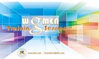 Women training session
